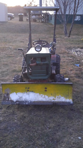 1980 Roper garden tractor with plow for trade