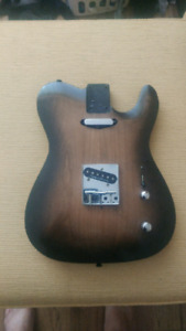 Warmoth carved top loaded telecaster body