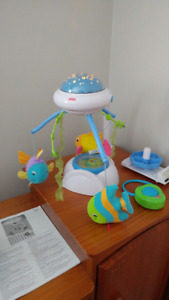 Fisher-Price ocean wonders mobile with lights