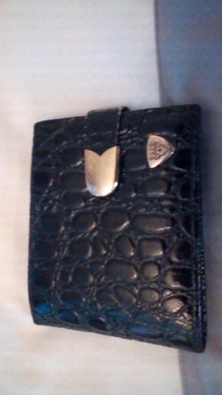 fb169982456c Gucci vintage black leather purse wallet | in Newport | Gumtree