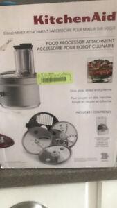 New in box KitchenAid food processor