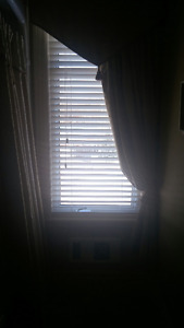 Shade o'matic OffWhite Wooden Blinds for sale (variety of sizes)