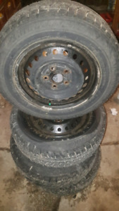 Blizzak winter tires and rims