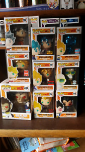 Funko pop Dragon ball, chases, fan expo, supernatural