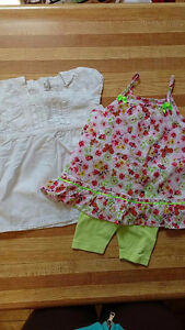 2 Girls Dresses/Outfits sized 6 Months. H&M and ORCHESTRA. EUC