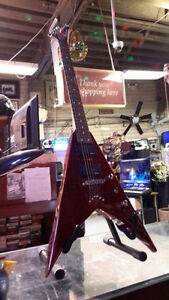 Jackson V Electric Guitar $249