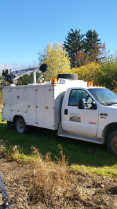 Ford f550 service truck!