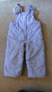 Purple size 2 snow pants