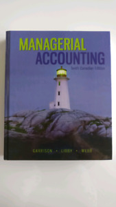 Managerial Accounting Tenth 10th Canadian Edition Garrison