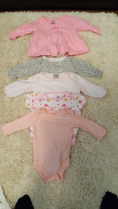 Onesies 3-6 months great condition!