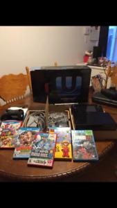Wii U MK8, manette et jeux. Négociable.