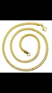 Gold Chain Plated 18K / Chaine en or 18k