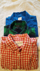 Xs button up shirt lot