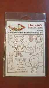 Clear and Cling Mounted Rubber Stamp sets Strathcona County Edmonton Area image 4