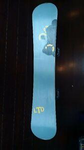 LTD snowboard package