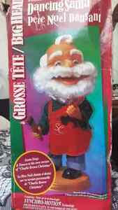 Christmas dancing santa decoration