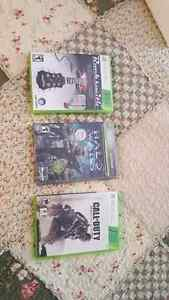 Xbox 360 Mint condition games
