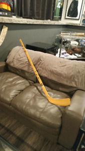 Vintage Autographed Boston Bruins Stick