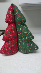 Christmas Trees, Wreaths, Holiday Plaque and Elf Hat