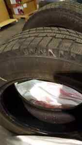 2 Winter tires honda civic. 195/65/15 West Island Greater Montréal image 2