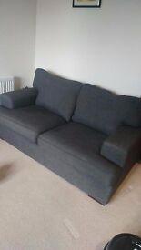 DFS Modern 2 Seater Sofa - Grey
