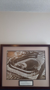 AWESOME OLD YANKEE STADIUM PRINT 200 WITH 60S MAG