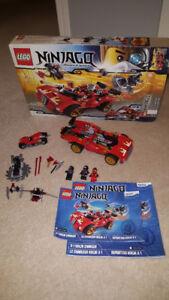 Complete Lego Set - X-1 Ninja Charger (70727)