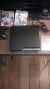 Ps3+Controller+three games=80$