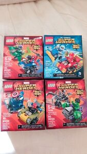 LEGO Super Heroes Mighty Micros Minifigures