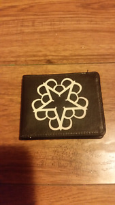 Black veil brides wallet