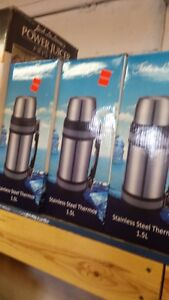 STAINLESS STEEL THERMOS'S HEAVY DUTY QUALITY