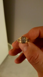 1990 Stanley cup club ring 10K woman's  ring
