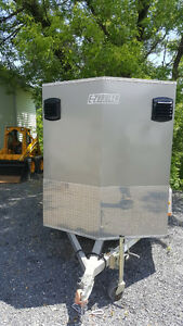 2010 High Country 5x8 motorcycle trailer