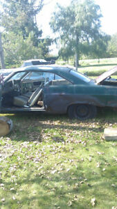 "1967 Fairlane GTA ""H"" Code for Parts or Restoration."