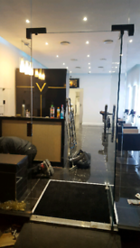 builder tiler07908628857 partition walls shop refurbishment