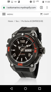 Sottomarino Pro Series Dive Watch