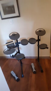 Yamaha DTX400K Electronic Drum Kit Barely Used