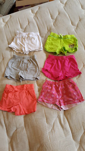 18-24 month/ size 2 girls shorts  (all fit the same)