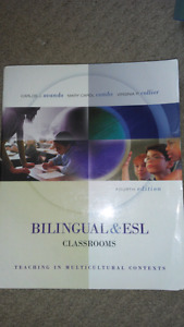 Bilingual and esl classrooms 4th edition textbook