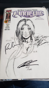 Comic - Witchblade #040, Signed with COA, NEW