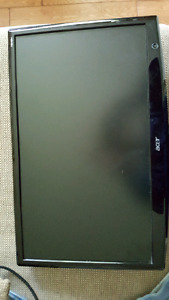 Acer 24 inch LCD monitor