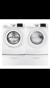 BRAND NEW - NEVER USED Samsung Washer and dryer pair