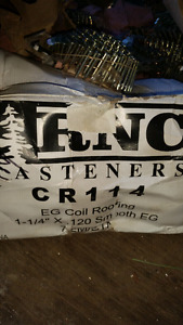 """Roofing nails    1 1/4""""coil s"""