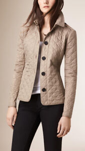 NEW 100% Authentic Burberry Ashurst quilted womens jacket coat