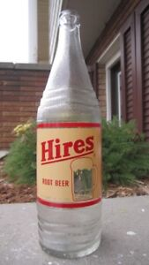 1 of 2 Made - 1952 HIRES 26 oz. ACL Prototype Pop Bottle