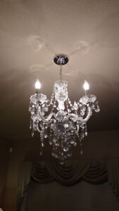 Crystal Chandelier | Kijiji in Chatham-Kent. - Buy, Sell & Save ...