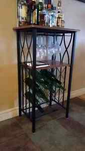 Wine Rack & Coffee Table
