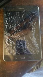 Shattered Samsung Galaxy Tab A