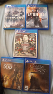 Selling great ps4 games