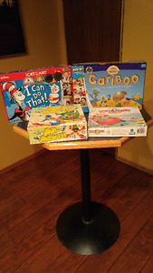 Children's Games:  Monopoly Junior & The Cat in the Hat